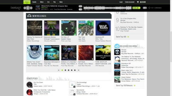 Prolific featured on Beatport