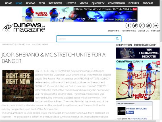 JOOP featured on DJ News Mag