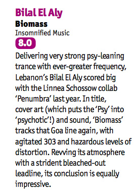 Bilal El Aly gets an 8.0 from DJ MAG!