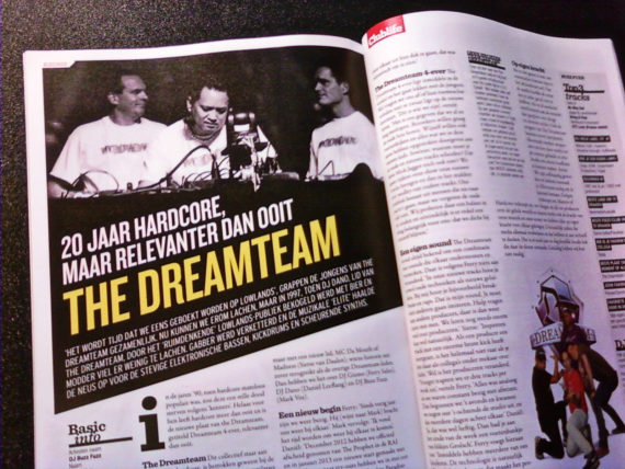 THE DREAMTEAM interviewed in CLUBLIFE MAGAZINE